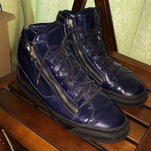 giuseppe zanotti zipper shoes